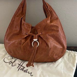 Cole Haan Leather Hobo (Vintage)